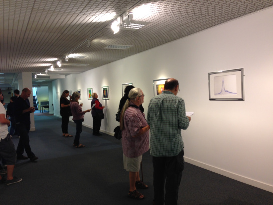 Virtual artist exhibition opening 2015